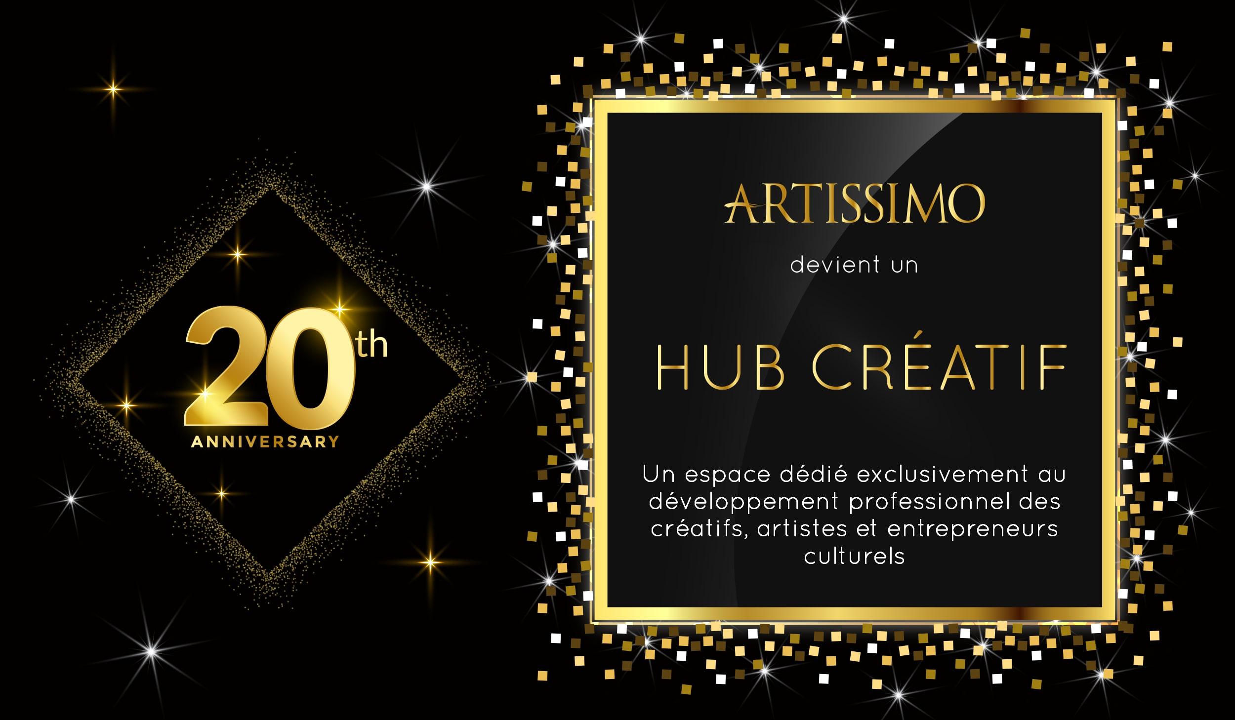 Artissimo devient Hub Créatif
